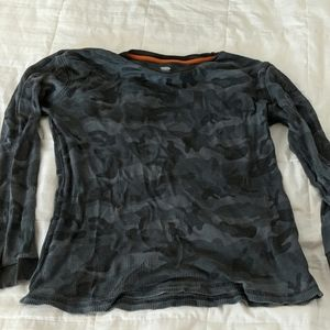 Old Navy camo long sleeved shirt